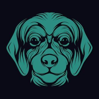 Honden gezicht