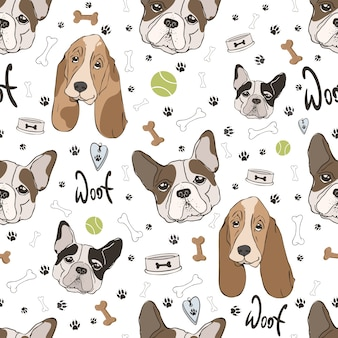 Honden patroon