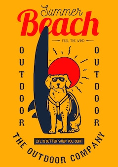 Honden surf