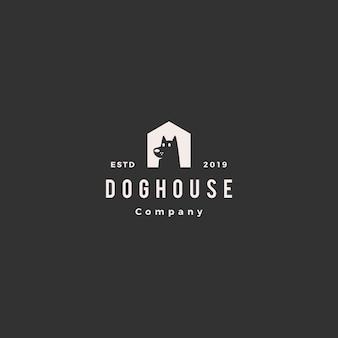 Hondenhuis huisdier home logo