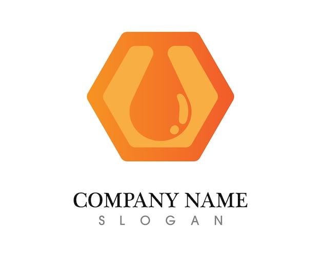 Honey drop bedrijfslogo