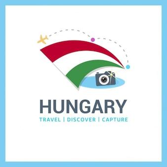 Hongarije travel logo