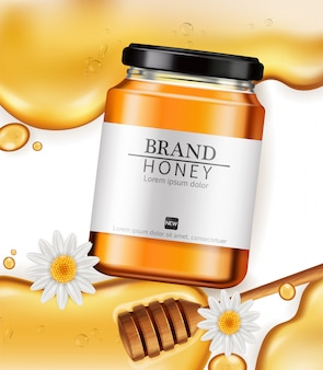 Honing fles