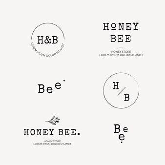 Honing logo collectie