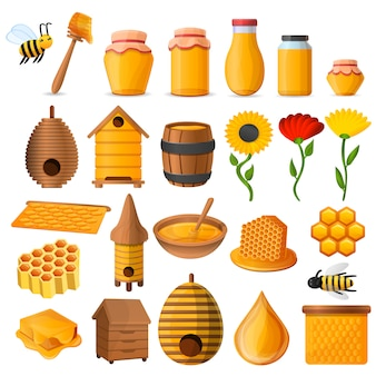 Honing pictogramserie