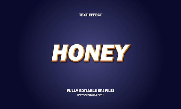 Honing teksteffect ontwerpsjabloon