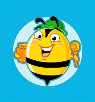 Honingbij mascotte