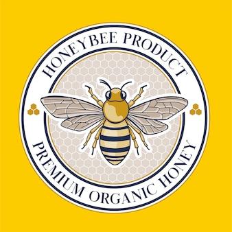 Honingbij productetiket