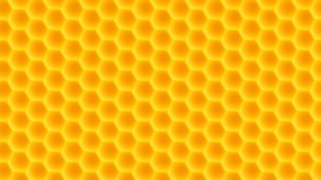 Honingraat brede rug