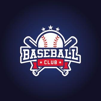 Honkbal club logo ontwerp