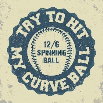 Honkbal embleem - afbeeldingen