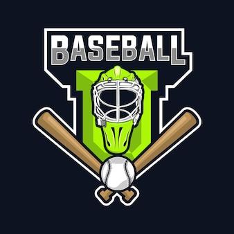 Honkbal logo ontwerp