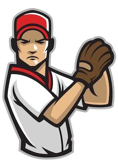 Honkbal werper