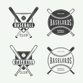 Honkbalemblemen, emblemen