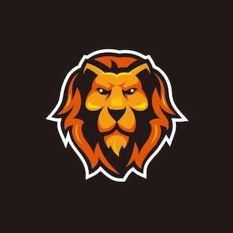 Hoofd leeuw illustratie