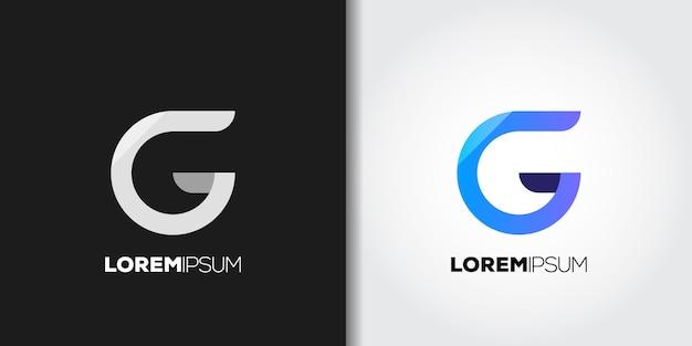 Hoofdletter g logo