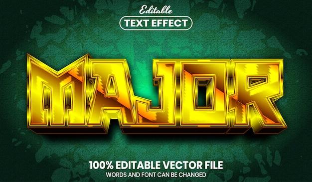 Hoofdtekst, bewerkbaar teksteffect in lettertypestijl
