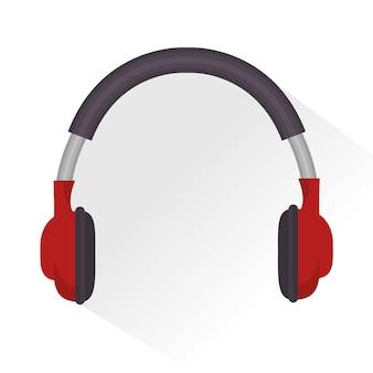Hoofdtelefoons geluid onderwijs online pictogram
