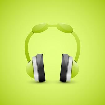 Hoofdtelefoons, grafisch concept