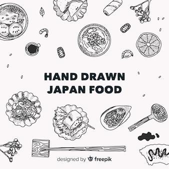Hoogste mening van japanse schotels op restaurantlijst