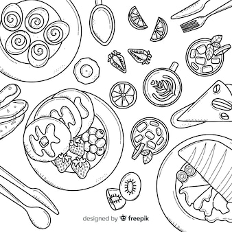 Hoogste mening van veganistschotels op restaurantlijst
