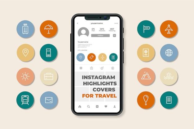 Hoogtepunten van instagram-verhalen