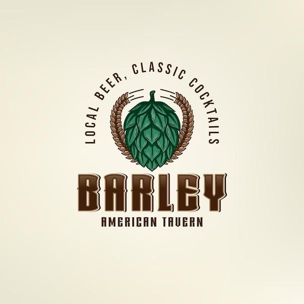 Hop barley-logo