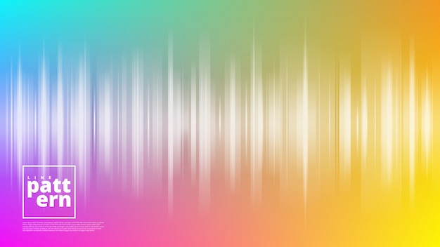 Horizontale banners met abstracte achtergrond en verticale lijnvormen