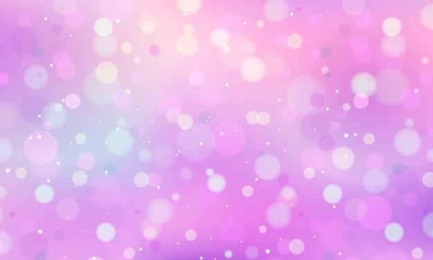 Horizontale pastelkleur bokeh achtergrond