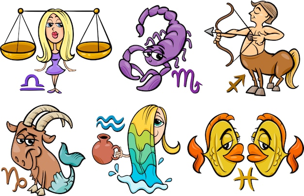 Horoscoop sterrenbeelden instellen
