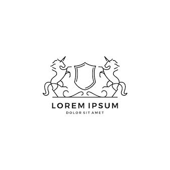 Horse crest-logo