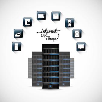 Hosting van internet of things design
