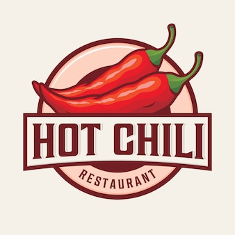 Hot chili logo ontwerp