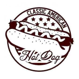 Hotdog ontwerp