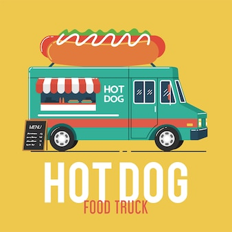 Hotdogvrachtwagen