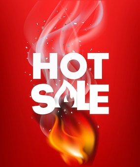 Hote verkoop reclamebanner