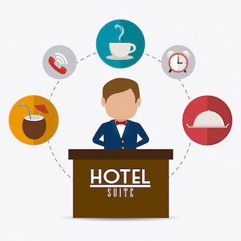 Hotel ontwerp.
