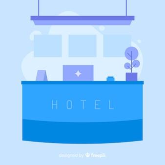 Hotel receptie