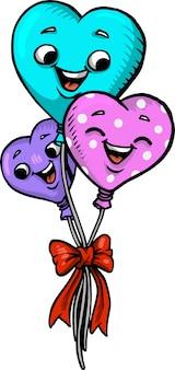 Hou van ballonnen