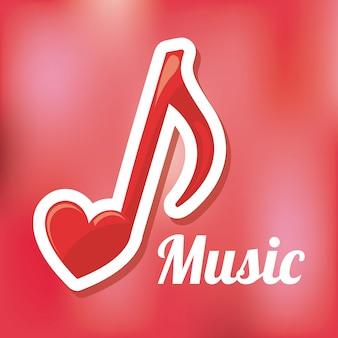 Hou van muziek