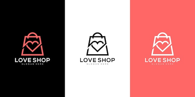 Hou van winkeltas logo