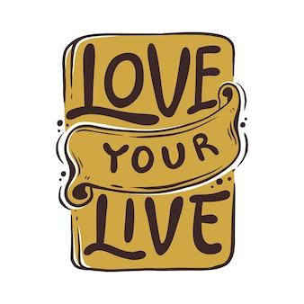 Houd van je live citaten