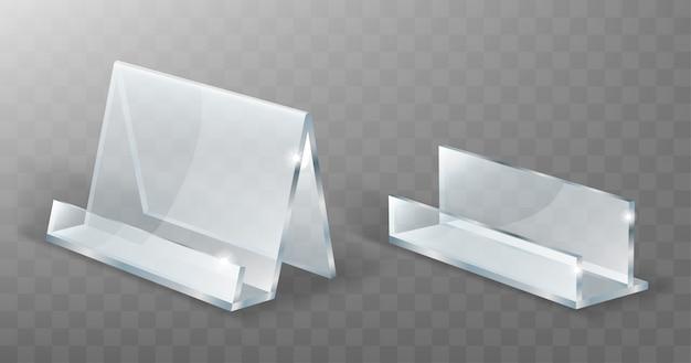 Houder van acryl, display van glas of plastic