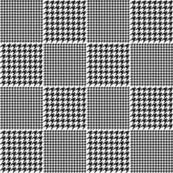 Houndstooth plaid patroon