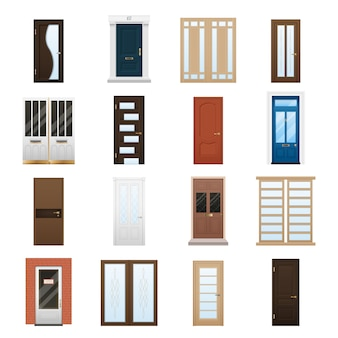 House doors set