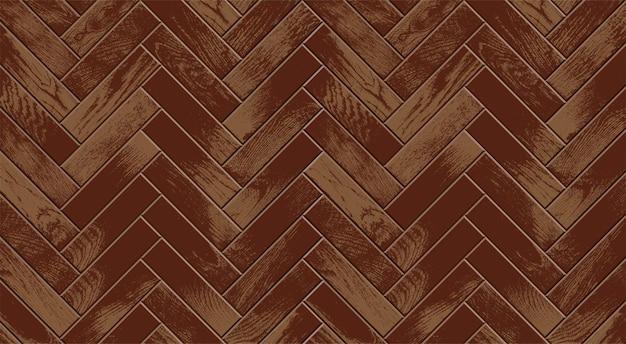 Houten vloer, realistisch vintage parket