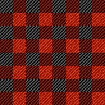 Houthakker geruite naadloze patroon textuur.