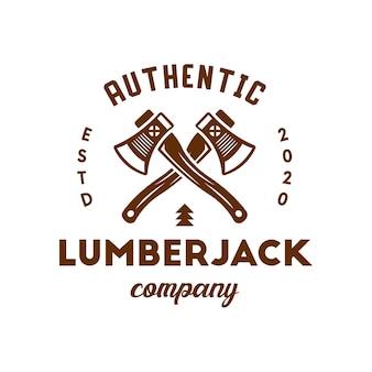 Houthakker logo ontwerp