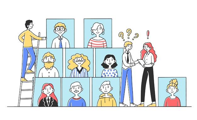 Hr-managers op zoek naar getalenteerde mensen voor werk