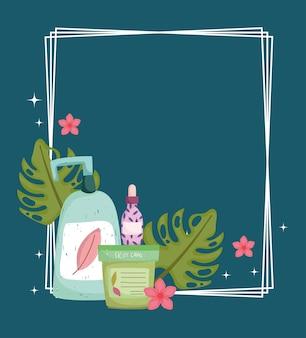 Huidverzorgingsproducten biologisch